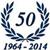 Logo Anniversario 50 anni di attività
