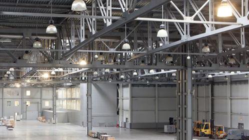 Impianto elettrico per grande capannone industriale